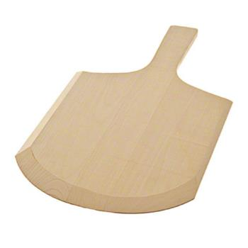 AMM814 - American Metalcraft - 814 - 8 in x 9 in Wood Pizza Peel Product Image