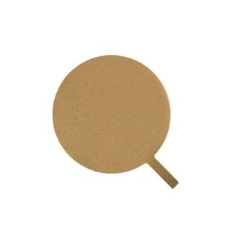 AMMMP1722 - American Metalcraft - MP1722 - 17 in Round Pressed Pizza Peel Product Image