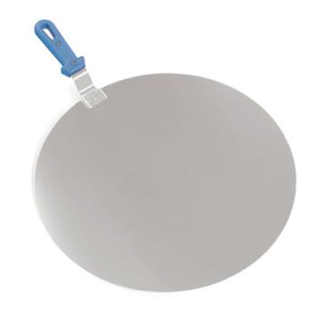 WOR4282632 - World Cuisine - 42826-32 - 12 1/2 in Round Aluminum Pizza Peel Product Image