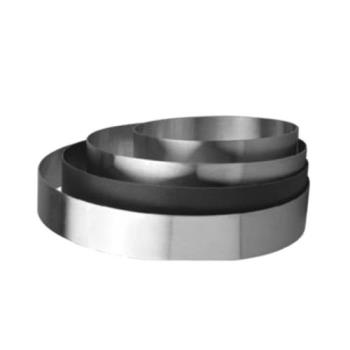 86624 - Allied Metal Spinning - CRS1234 - 12 in Stainless Steel Pastry Ring Product Image