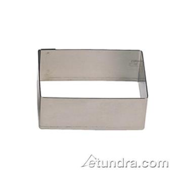 "WOR4742511 - World Cuisine - 47425-11 - 2 3/8"" x 2"" Stainless Pastry Rings Product Image"
