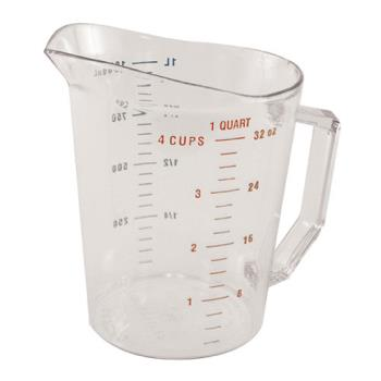85612 - Cambro - 100MCCW - Camwear 1 qt Measuring Cup Product Image