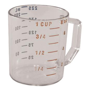 85610 - Cambro - 25MCCW135 - 1 cup Camwear® Measuring Cup Product Image