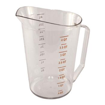 85614 - Cambro - 400MCCW135 - 4 qt Camwear® Measuring Cup Product Image