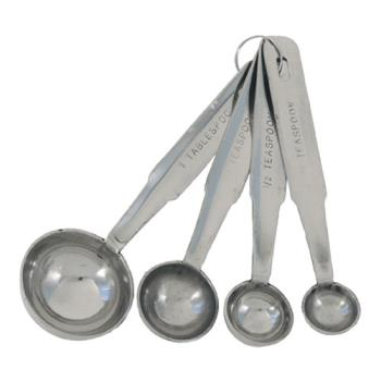 85601 - Crestware - MEASPHD - Measuring Spoon Set Product Image
