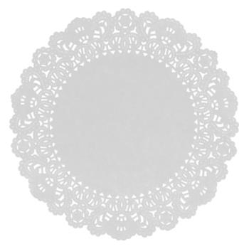 58416 - Hoffmaster - 500532 - 6 in Paper Lace Doily Product Image