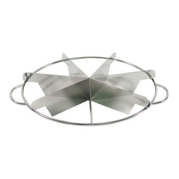 85824 - Johnson Rose - 6317 - 7 Slice Stainless Steel Pie Cutter Product Image