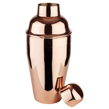 WOR4148205 - World Cuisine - 41482-05 - 16 9/10 oz Copper Cocktail Shaker Product Image
