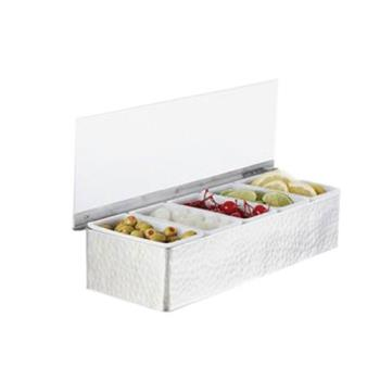 AMMHMCD5 - American Metalcraft - HMCD5 - 5 Compartment Garnish Station Product Image