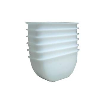 RUBFG2890L2WHT - Rubbermaid - 2890-L2 - 1 pt White Garnish Center Insert Product Image