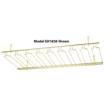 WINGH1836 - Winco - GH-1836 - 18 in x 36 in Brass Glass Rack Product Image
