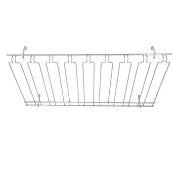 WINGHC1836 - Winco - GHC-1836 - 18 in x 36 in Chrome Glass Rack Product Image