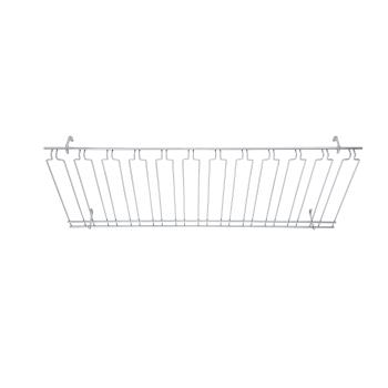 WINGHC1848 - Winco - GHC-1848 - 18 in x 48 in Chrome Glass Rack Product Image