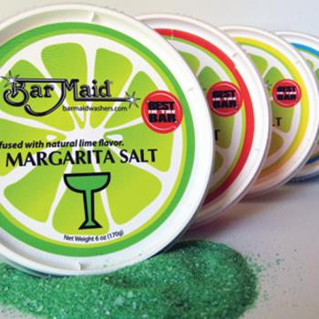 BARCR102 - Bar Maid - CR-102 - 6 oz Margarita White Salt Tub Product Image