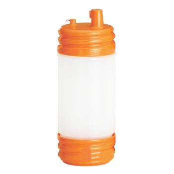 86556 - Tablecraft - N32LPX - 32 oz PourMaster® Orange Low Profile Drink Mix Pourer Product Image