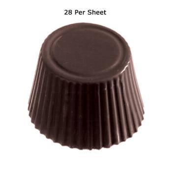WOR4786035 - World Cuisine - 47860-35 - (28) Polycarb Round Chocolate Mold Product Image