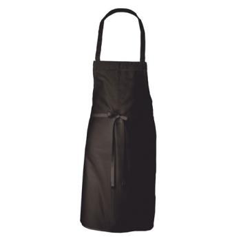 81749 - Chef Works - APKBL - Black Bib Apron Product Image