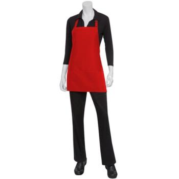 CFWF10RED - Chef Works - F10-RED - Red Three Pocket Apron Product Image