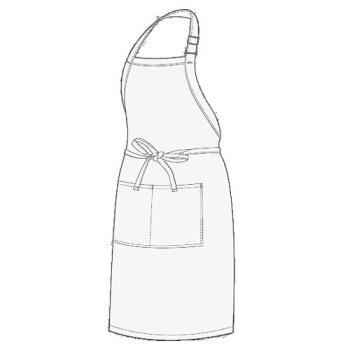 CFWF8WHT - Chef Works - F8-WHT - White Butcher Apron Product Image