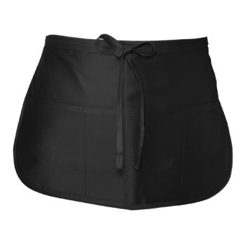 CFWF9BLK - Chef Works - F9-BLK - Black Waist Apron Product Image