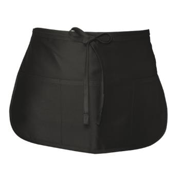 CFWFREV - Chef Works - FREV - Black Reversible Waist Apron Product Image