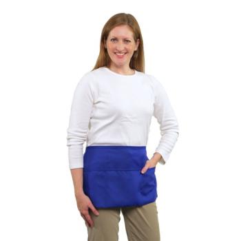 19134 - RDW - A9003RB - 3 Pocket Royal Blue Waist Apron Product Image