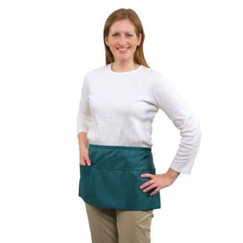 19164 - RDW - B9003T - 3 Pocket Teal Waist Apron Product Image