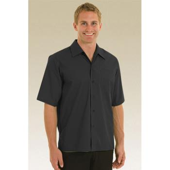 CFWC100BLKL - Chef Works - C100-BLK-L - Black Café Shirt (L) Product Image