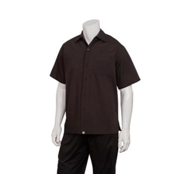 CFWC100BLKXL - Chef Works - C100-BLK-XL - Black Café Shirt (XL) Product Image