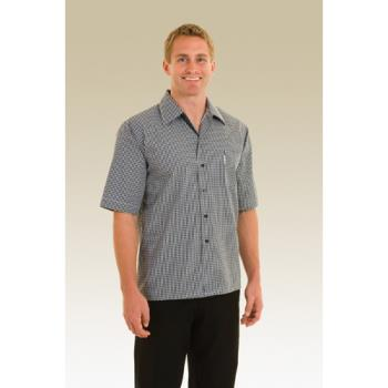 CFWCSCK2XL - Chef Works - CSCK-2XL - Checked Cook Shirt (2XL) Product Image