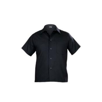 81629 - Chef Works - CSCV-BLK-M - Black Cook Shirt (M) Product Image