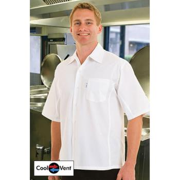 CFWCSCVWHTXS - Chef Works - CSCV-WHT-XS - White Cook Shirt (XS) Product Image