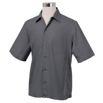 CFWCSMVGRYL - Chef Works - CSMV-GRY-L - Cool Vent Gray Shirt (L) Product Image