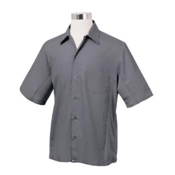 CFWCSMVGRYS - Chef Works - CSMV-GRY-S - Cool Vent Gray Shirt (S) Product Image