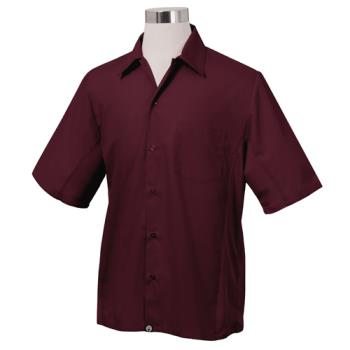 CFWCSMVMERXL - Chef Works - CSMV-MER-XL - Cool Vent Merlot Shirt (XL) Product Image