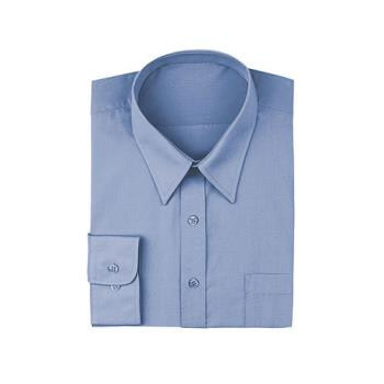 CFWD100FRBS - Chef Works - D100-FRB-S - French Blue Dress Shirt (S) Product Image