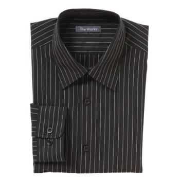 CFWD300CDA2XL - Chef Works - D300-CDA-2XL - Onyx Dress Shirt (2XL) Product Image