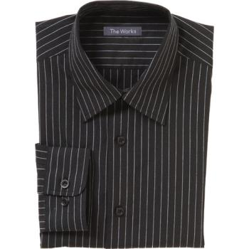 75906 - Chef Works - D300-CDA-L - Onyx Dress Shirt (L) Product Image