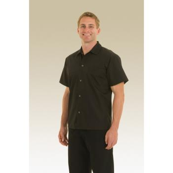 CFWKCBL4XL - Chef Works - KCBL-4XL - Black Utility Shirt (4XL) Product Image
