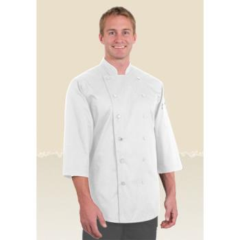 CFWS100WHTM - Chef Works - S100-WHT-M - White Chef Shirt (M) Product Image