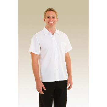 CFWSHYKXS - Chef Works - SHYK-XS - White Utility Shirt (XS) Product Image