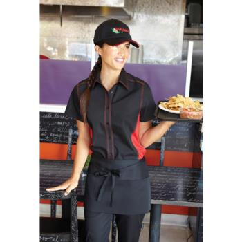 CFWCSWCBRMXL - Chef Works - CSWC-BRM-XL - Women's Cool Vent Black/Red Shirt (XL) Product Image