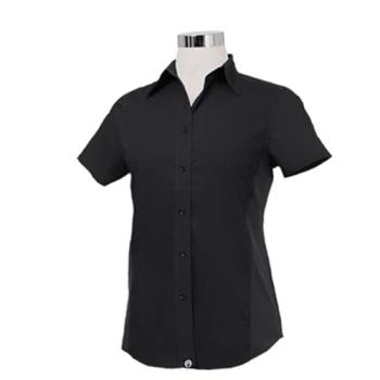 CFWCSWVBLK2XL - Chef Works - CSWV-BLK-2XL - Women's Cool Vent Black Shirt (2XL) Product Image