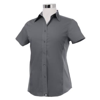 CFWCSWVGRY2XL - Chef Works - CSWV-GRY-2XL - Women's Cool Vent Gray Shirt (2XL) Product Image