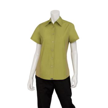CFWCSWVLIM2XL - Chef Works - CSWV-LIM-2XL - Women's Cool Vent Lime Shirt (2XL) Product Image