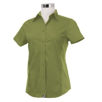 CFWCSWVLIMM - Chef Works - CSWV-LIM-M - Women's Cool Vent Lime Shirt (M) Product Image