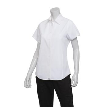 CFWCSWVWHT2XL - Chef Works - CSWV-WHT-2XL - Women's Cool Vent White Shirt (2XL) Product Image