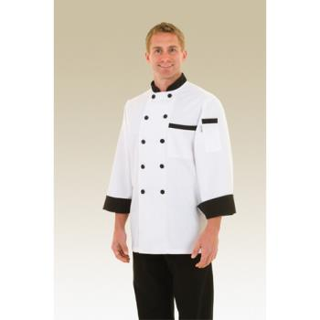 CFWBBTR3XL - Chef Works - BBTR-3XL - Dijon Chef Coat (3XL) Product Image