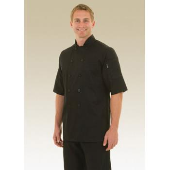 CFWBLSS5XL - Chef Works - BLSS-5XL - Chambery Chef Coat (5XL) Product Image