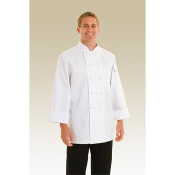 CFWCBCC4XL - Chef Works - CBCC-4XL - Colmar Chef Coat (4XL) Product Image